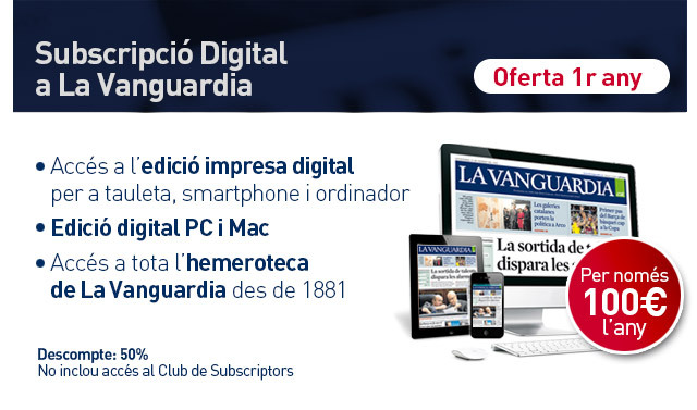 Subscripci� digital a La Vanguardia