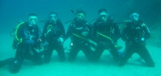 Bautizos de buceo en piscina por s�lo 9 � en SubLimits Diving Center S'Agar�