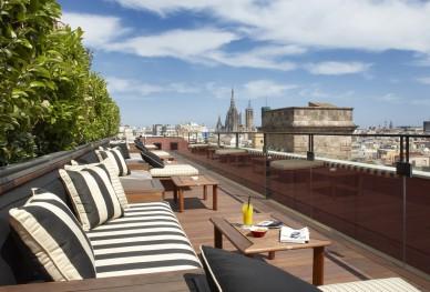 Oto o en las terrazas de barcelona terrazeo for Terrazas de hoteles en barcelona
